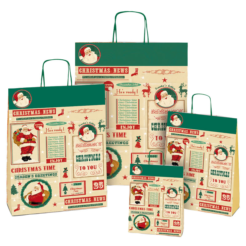 Papirbæreposer jul
