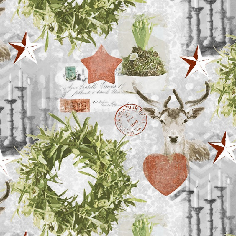 Julepapir Traditionel del 3