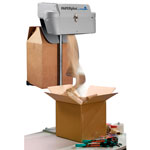 Pakkefyldmaskine og pakkefyld