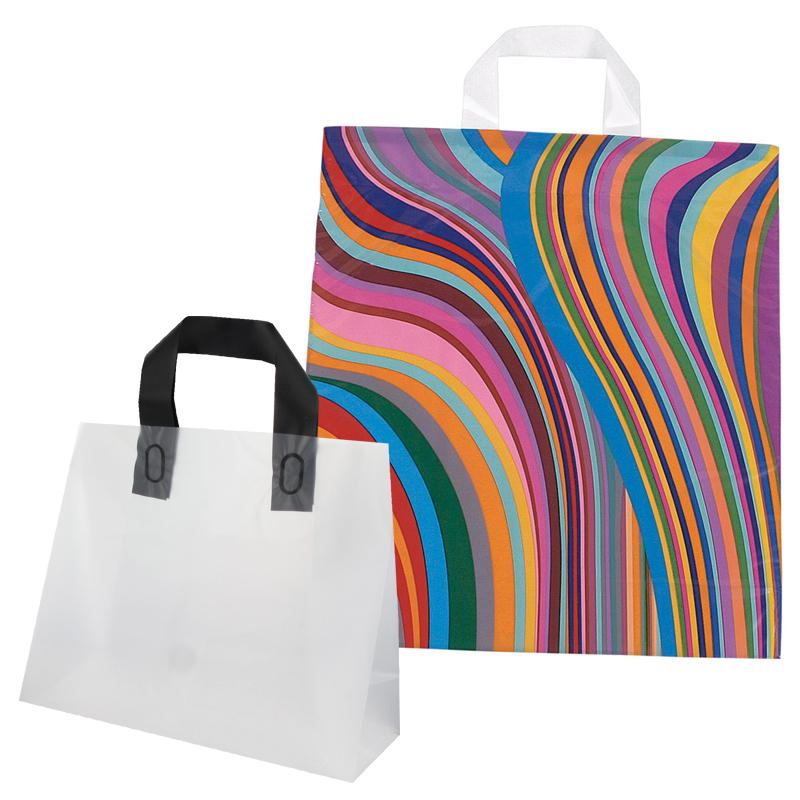 Plastikposer med loop håndtag
