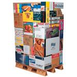 Kasser og æsker med firmatryk