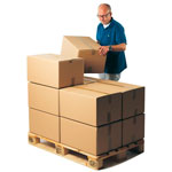 Palletilpassede kasser