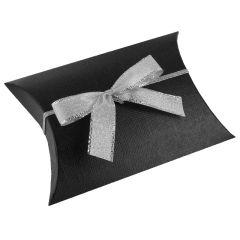 Sløjfe tekstil sølv
