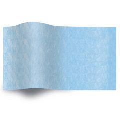 Silkespapper Enfärgat Himmelsblå