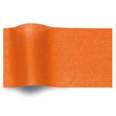 Silkespapper vaxat Orange