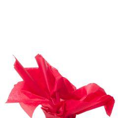 Farvet silkespapir cherry