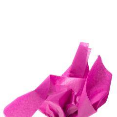 Farvet silkespapir blomme