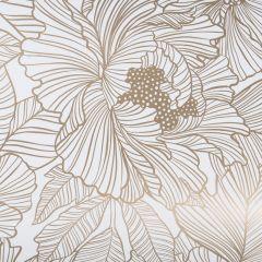 Gavepapir Marquet flower, gold FSC