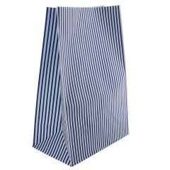 Sos papirposer blå stibet
