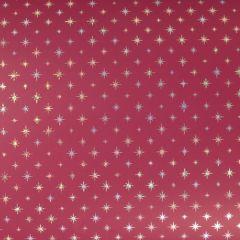 Gavepapir Twinkle red