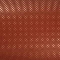 Gavepapir Orange gold dots