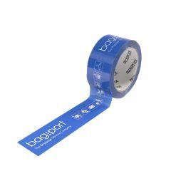Pakketape PP hotmelt - indfarvet tape/negativt tryk