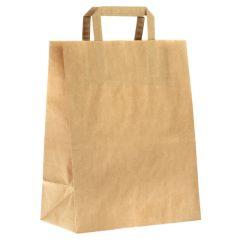 Brun papirbærepose