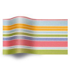 Silkepapir island stripes