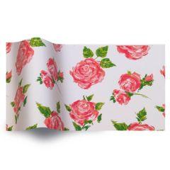 Silkepapir botanic cottage rose