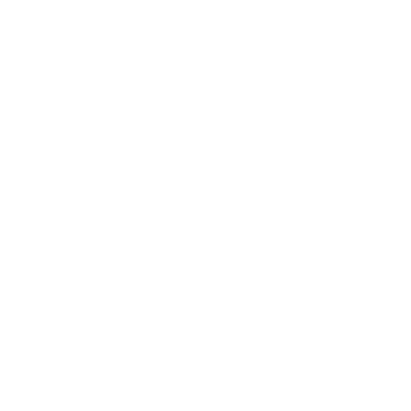 ETIKETTER MODERN HEART Hvid med Lyseblå prikker