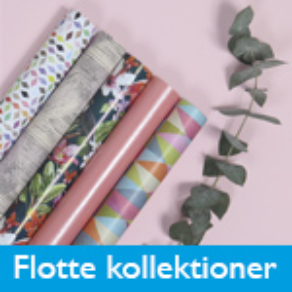 Flotte nye gavepapir kollektioner til 2017